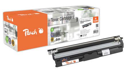 Peach  Toner Module noire, compatible avec ID-Fabricant: A0V301H Konica Minolta Magicolor 1650 EN