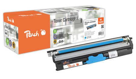 Peach  Toner Module cyan, compatible avec ID-Fabricant: A0V30HH Konica Minolta Magicolor 1650 EN