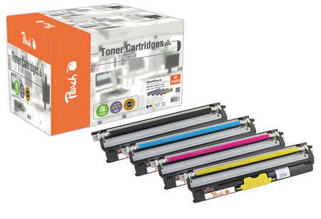 Peach Multipack , compatible avec ID-Fabricant: A0V30-series Konica Minolta Magicolor 1650 EN