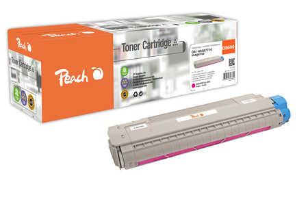 Peach  Toner Module magenta, compatible avec ID-Fabricant: 43487710 OKI C 8600 N