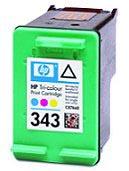 Original Cartouche d'encre couleur originale ID-Fabricant: No. 343, C8766E HP DeskJet 5740