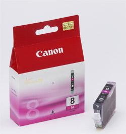 Original Cartouche d'encre magenta originale ID-Fabricant: CLI-8m, 0622B001 Canon Pixma IX 5000