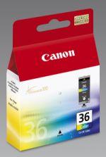 Original Cartouches d'encre couleur originales ID-Fabricant: CLI-36 Canon Pixma IP 100