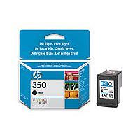 Original Cartouche d'encre noire originale ID-Fabricant: No. 350, CB335EE HP PhotoSmart C 4599