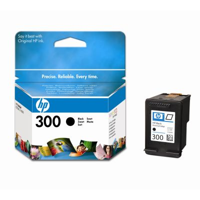 Original Cartouche d'encre noire originale ID-Fabricant: No. 300, CC640EE HP PhotoSmart C 4788