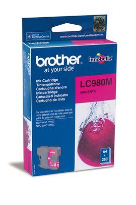 Original Cartouche d'encre magenta originale ID-Fabricant: LC-980 m Brother DCP-163 C