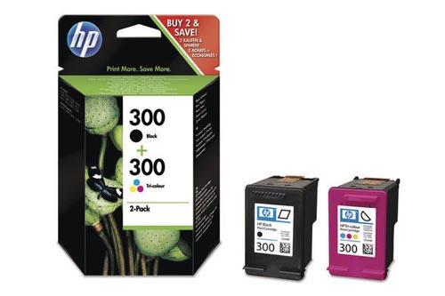 Original Pack combiné des cartouches d'encre originales noire et couleur HP PhotoSmart C 4788