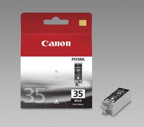 Original Cartouches d'encre originales noires ID-Fabricant: PGI-35bk Canon Pixma IP 100