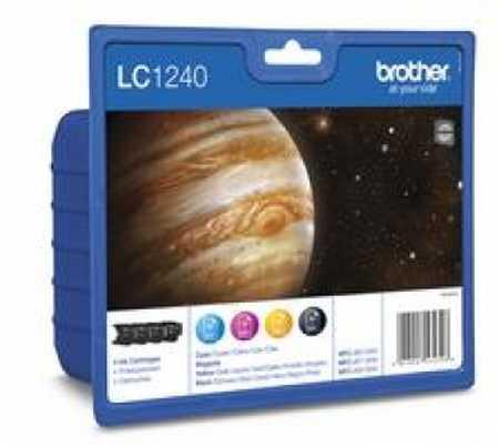 Original Encre originale paquet valeur, noir, couleur ID-Fabricant: LC-1240VA Brother MFCJ 6510 DW