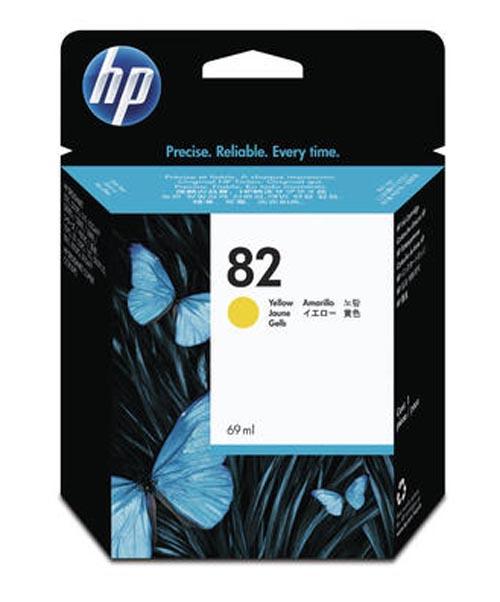 Original Cartouche d'encre jaune originale HP DesignJet 800 42 Inch