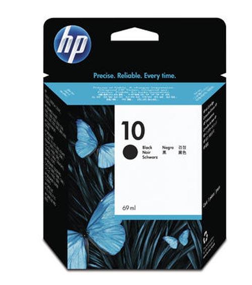 Original Cartouche d'encre noire originale ID-Fabricant: No. 10, C4844A HP DesignJet 820 MFP