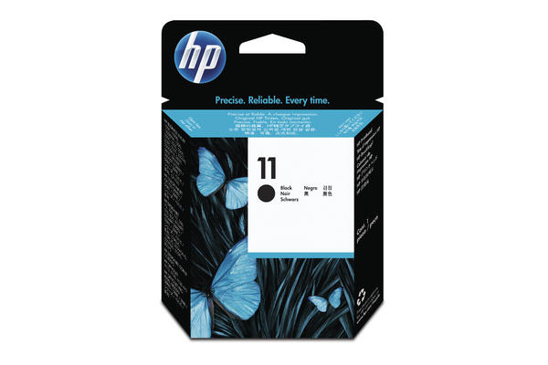 Original Tête d'impression noire originale ID-Fabricant: No. 11, C4810A HP DesignJet 500 42 Inch