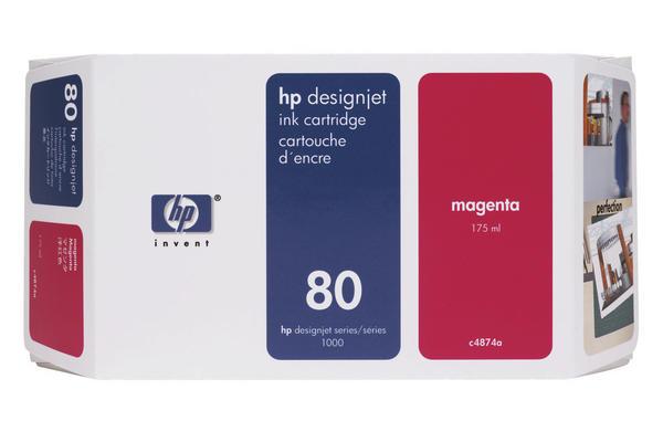 Original Cartouche d'encre magenta originale HP DesignJet 1050 C Plus