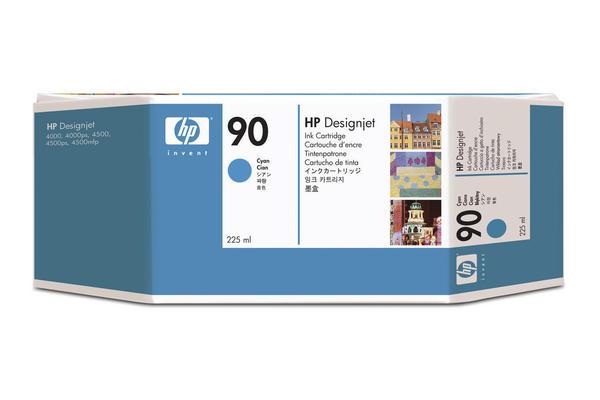 Original Cartouche d'encre cyan originale HP DesignJet 4520 Series