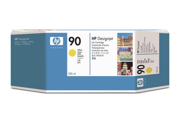 Original Cartouche d'encre jaune originale HP DesignJet 4500 Series