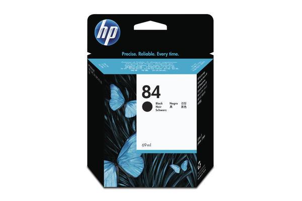 Original Cartouche d'encre noire originale HP DesignJet 30 GP