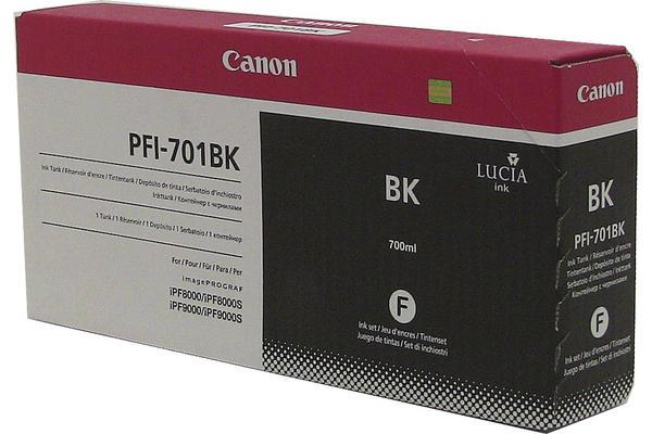 Original Cartouche d'encre noire originale Canon imagePROGRAF IPF 9000