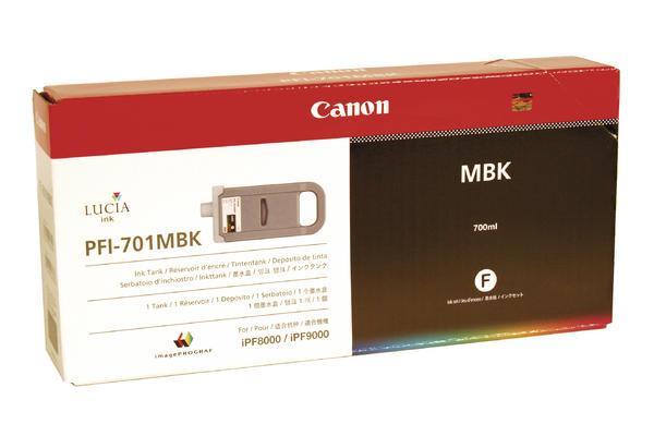 Original Cartouche d'encre originale noire mate  Canon imagePROGRAF IPF 9000