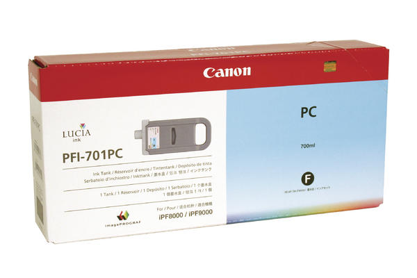 Original Cartouche d'encre photo cyan originale Canon imagePROGRAF IPF 9000