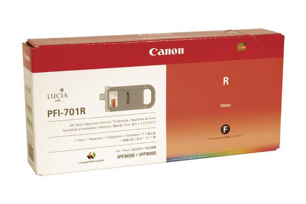 Original Cartouche d'encre rouge originale Canon imagePROGRAF IPF 9000