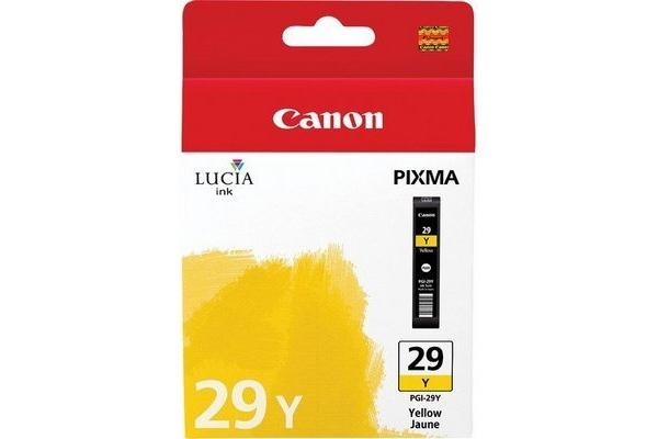 Original Cartouche d'encre jaune originale Canon Pixma Pro 1