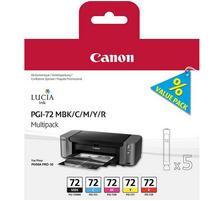 Original Cartouches d'encre Multipack originale MBK/CMY/R Canon Pixma Pro 10 S