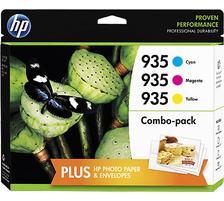 Original Encre originale paquet valeur couleur ID-Fabricant: No. 935XL, F6U78AE HP OfficeJet Pro 6230