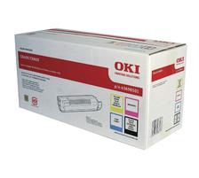 Original e cartouche de toner Rainbow Kit CMYK ID-Fabricant: 43698501 OKI C 8600 N