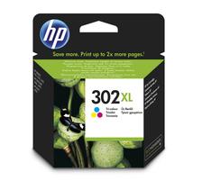 Original Cartouche d'encre couleur originale ID-Fabricant: No. 302XL, F6U67AE HP DeskJet 3630 Series