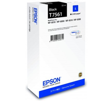 Original Cartouche d'encre noire originale ID-Fabricant: No. 756 Epson WorkForce Pro WF-8590 DTWFC