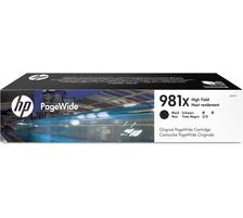Original Cartouche d'encre noire originale ID-Fabricant: No. 981X, L0R12A HP PageWide Enterprise Color Flow MFP 586 dn