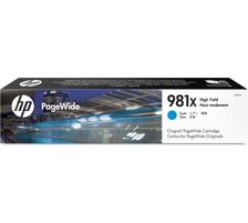 Original Cartouche d'encre cyan originale ID-Fabricant: No. 981X, L0R09A HP PageWide Enterprise Color Flow MFP 586 dn