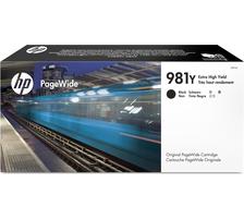 Original Cartouche d'encre noire originale ID-Fabricant: No. 981Y, L0R16A HP PageWide Enterprise Color Flow MFP 586 dn