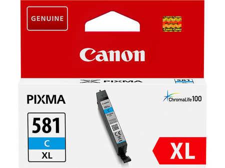 Original Cartouche d'encre cyan originale ID-Fabricant: CLI-581C, 2049C001 Canon Pixma TS 9541 C