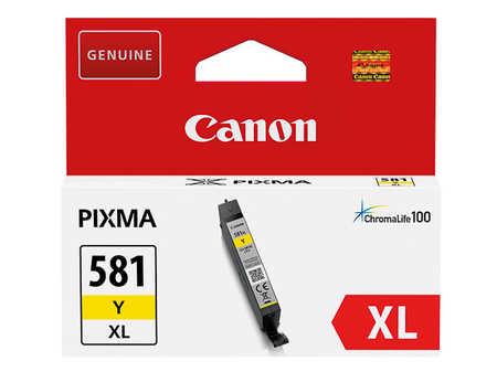 Original Cartouche d'encre jaune originale ID-Fabricant: CLI-581Y, 2051C001 Canon Pixma TS 9541 C
