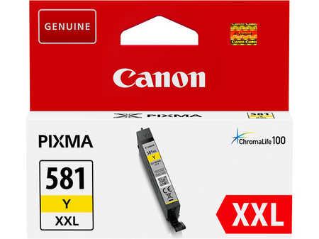 Original Cartouche d'encre jaune originale ID-Fabricant: CLI-581Y, 1997C001 Canon Pixma TS 9541 C