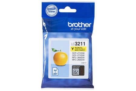 Original Cartouche d'encre jaune originale ID-Fabricant: LC3211Y Brother MFCJ 491 DW