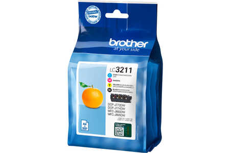 Original e Multipack cartouches d'encre ID-Fabricant: LC3211VALDR Brother MFCJ 491 DW