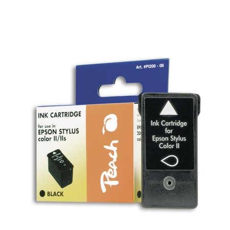 Peach Cartouche d'encre  noir, compatible avec ID-Fabricant: S020047 Epson Machjet 850 K