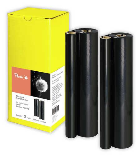 Peach 2rouleaux de papier transfert thermique , compatibles avec Pitney Bowes sans-designation 9400