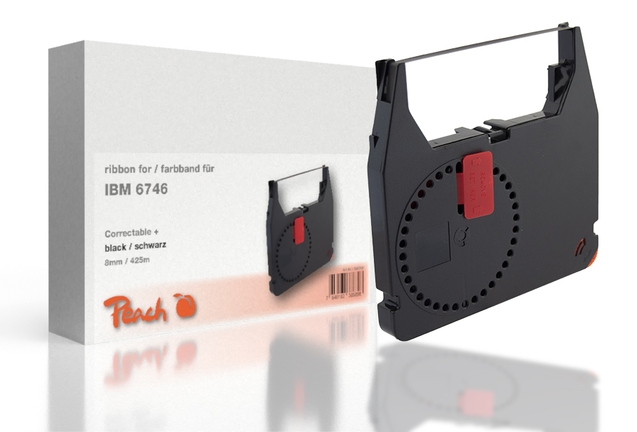 Peach IBM 6746, bk, 8mm/425m, Correctable, Ruban HP DesignJet 4520 Series